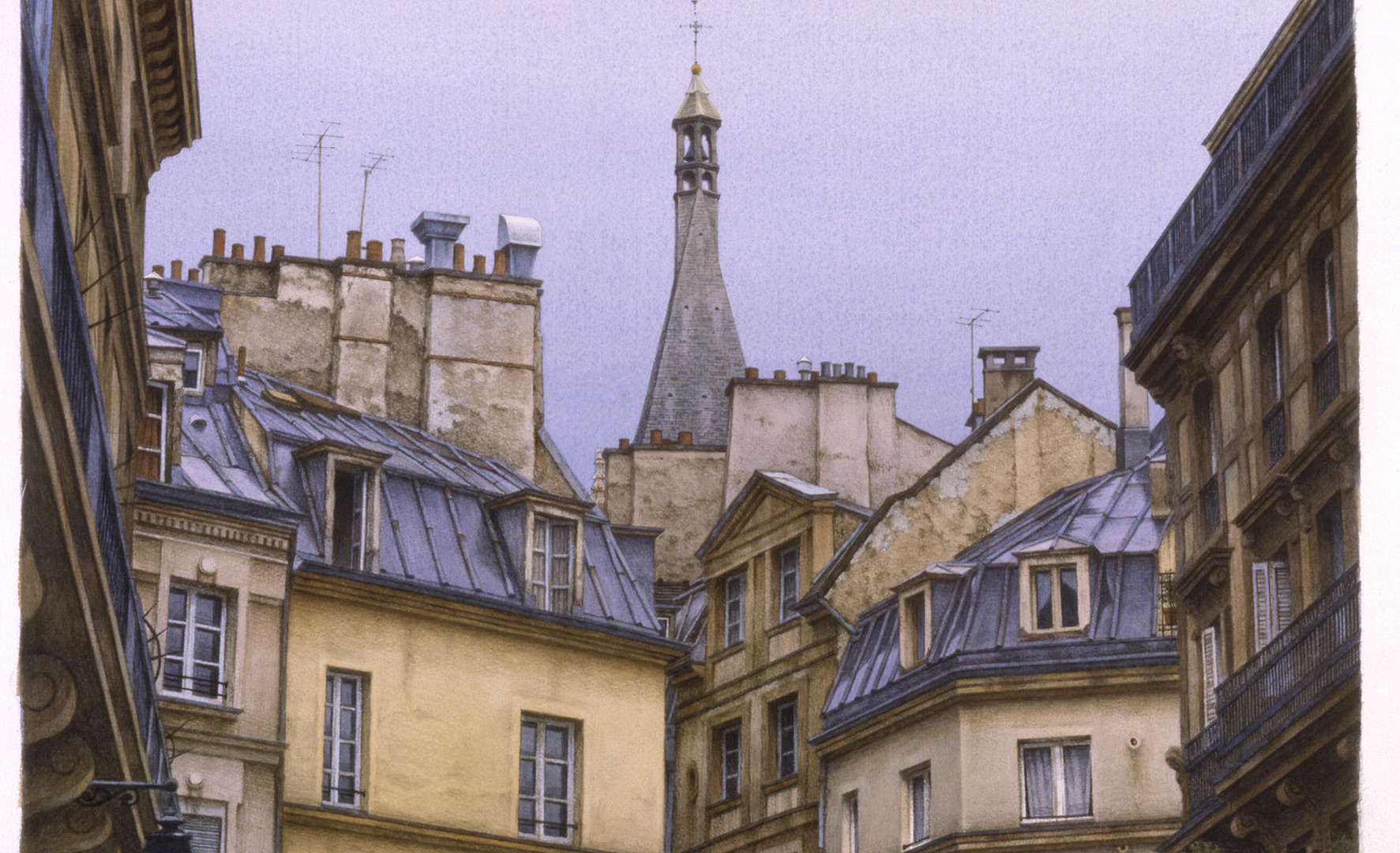 St. Severin. Rooftops, 2002