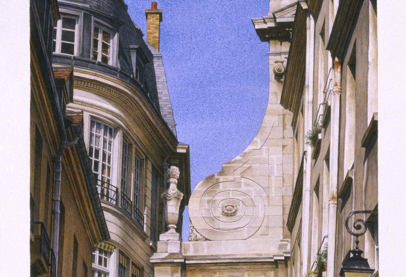 Rue Aubriot, 2007