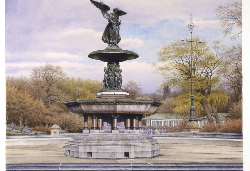 Bethesda Fountain, 2003
