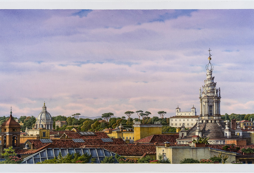 Rome Rooftops, 2015