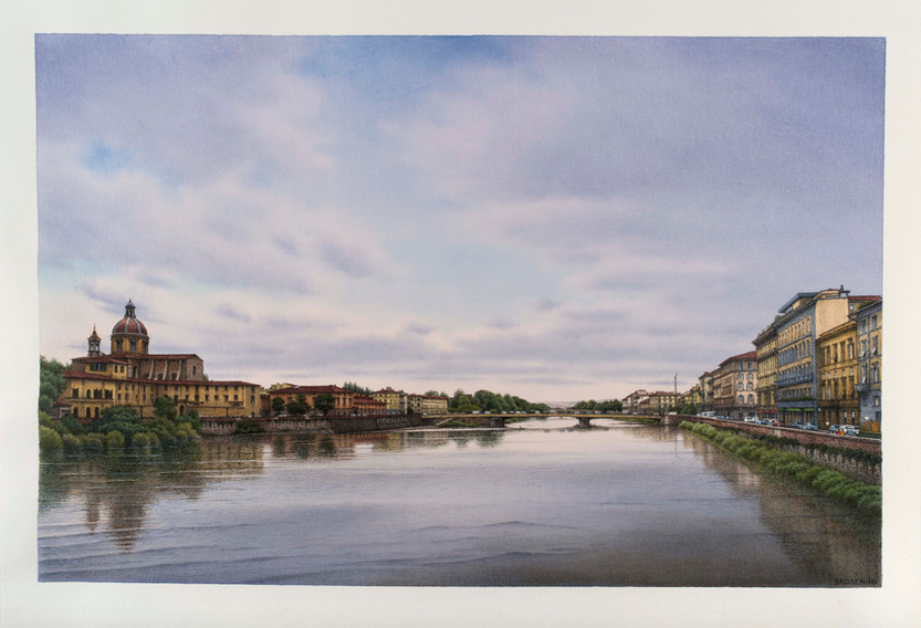 From Ponte Vespucci, 2016