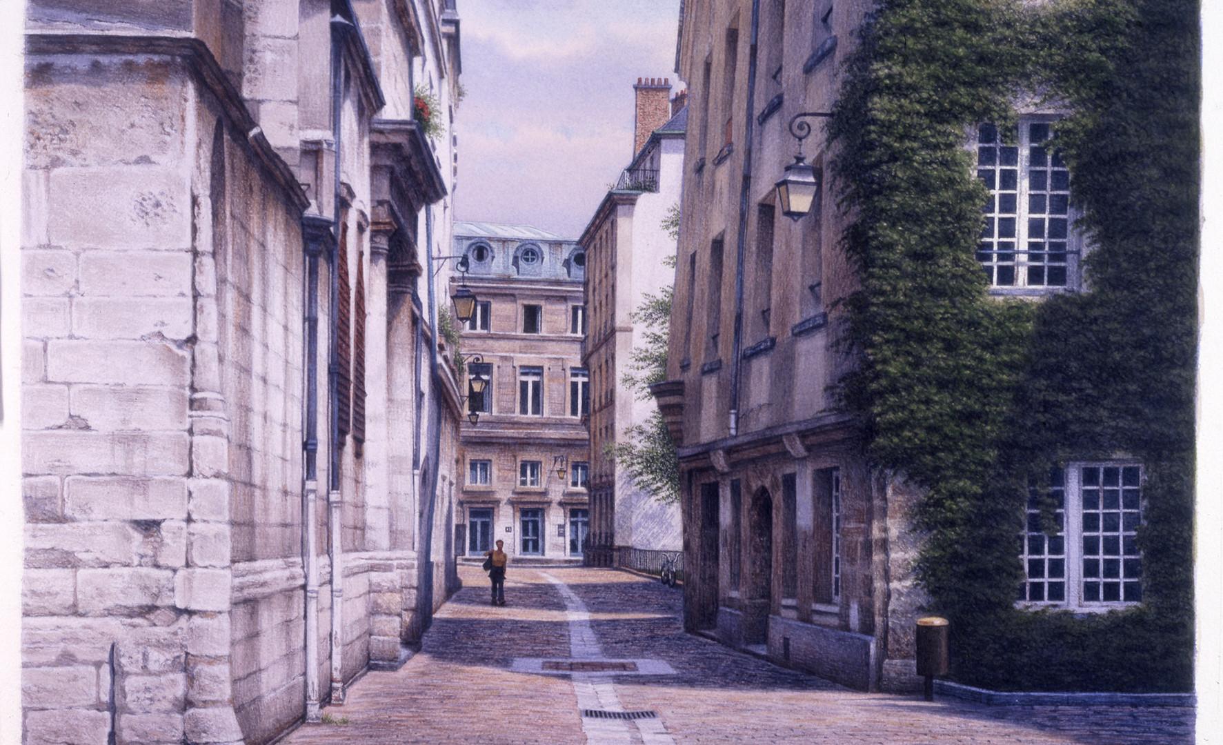Rue des Barres, 2001