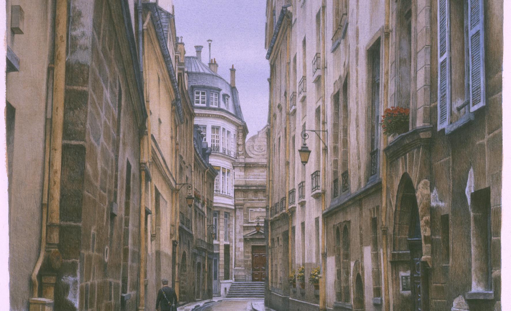 Marais Streetscape, 2000