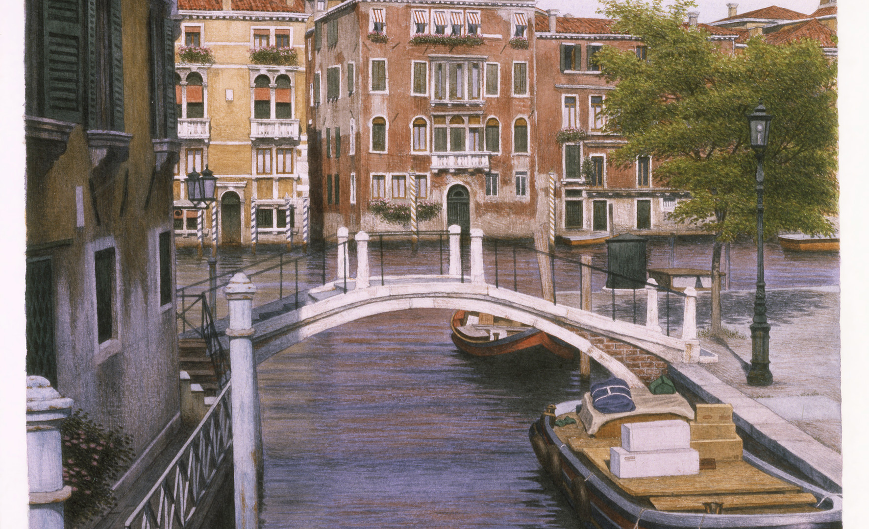 White Bridge, Venice 1998