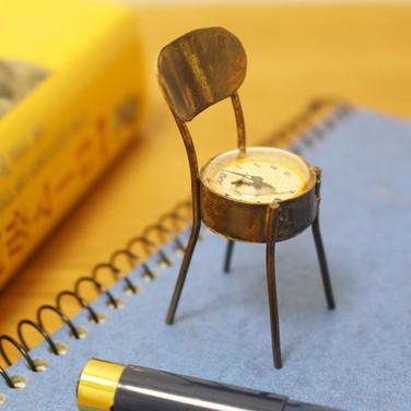 手作り置時計 Via Appia(Chair Yellow)