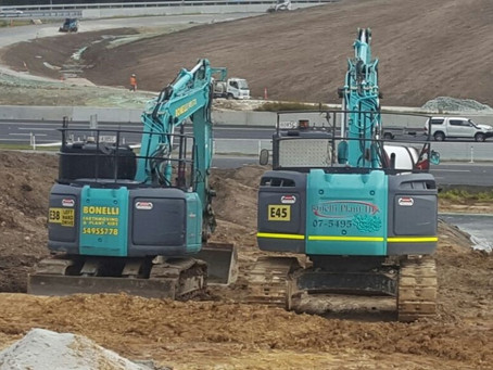 Bonelli Plant Hire works with BMD to Open the Boundary Road Interchange ahead of schedule.