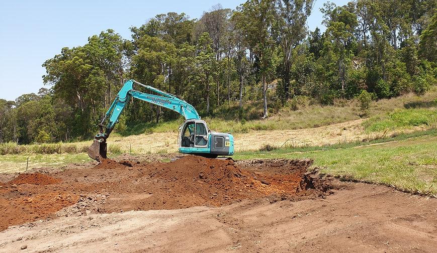 Site Pads Bonelli Plant Hire Excavator Hire Queensland