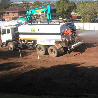 Bonelli Plant Hire early Works at Banyo