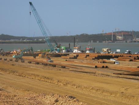 Wiggins Island Coal Export Terminal Land Reclamation Management 2012