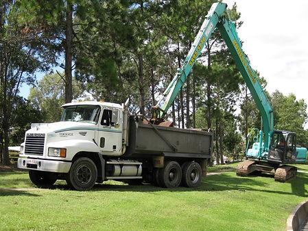 Long Reach Excavator Hire Bonelli PLant Hire Queensland