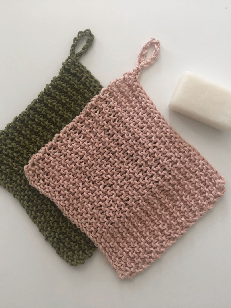 Learn it Knit // Dish Cloth