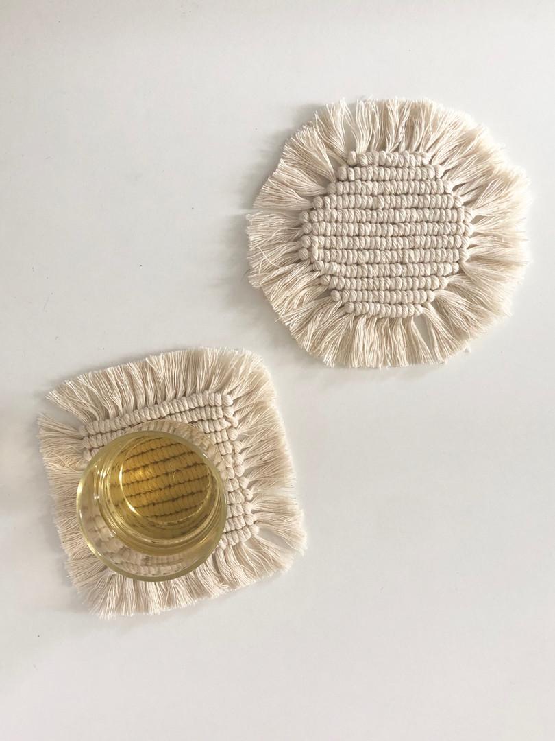 Macramé Coasters