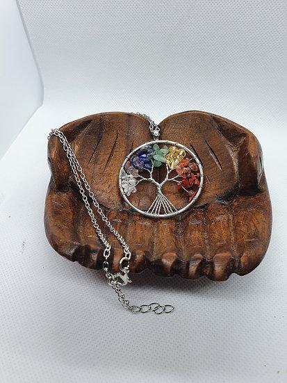Chakra Tree of Life necklace
