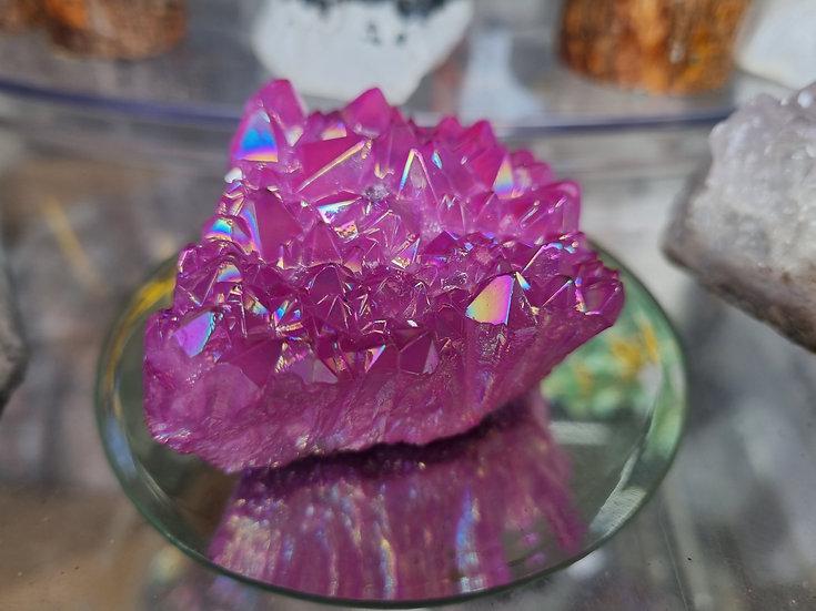 Pink Aura Quartz