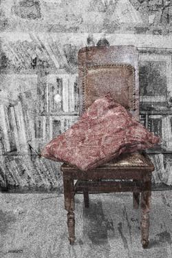 cuscino rosso
