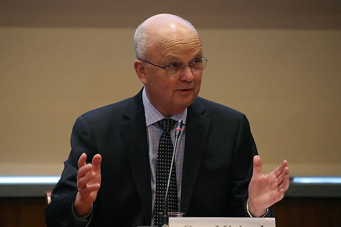 Former CIA Director Michael Hayden cheered after President Biden said former President Donald Trump should not receive intelligence briefings, a much different response than he gave to a similar proposal just two and a half years ago.