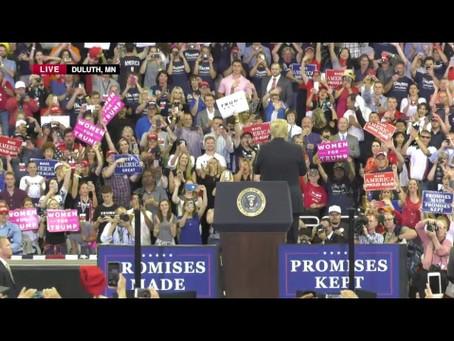 Trumps Minnesota Rally Numbers Show Majority Were Not Republican