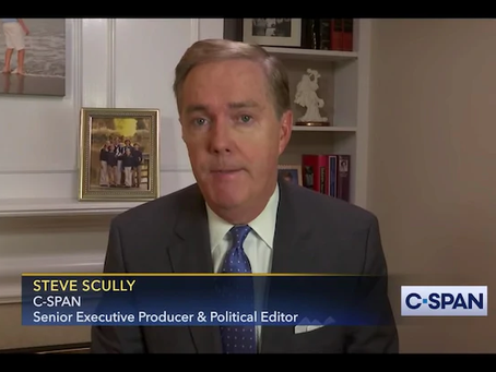 """C-Span Suspends Steve Scully """"Indefinitely"""" for Lying about being Hacked"""