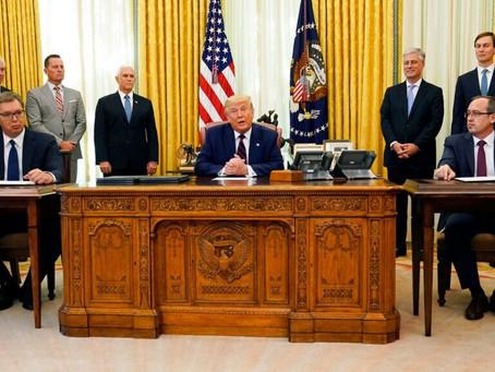 Trump Negotiates Deal Between Kosovo and Serbia; Kosovo and Israel; Serbia Move Embassy to Jerusalem