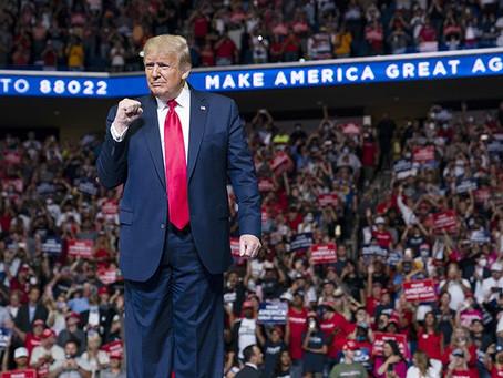 Trump Ties Biden in Pennsylvania in New Rasmussen Poll