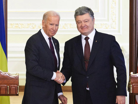"New Audio Released by Ukraine Shows Biden Planning to be ""Deeply Engaged"" After Trump Inauguration"