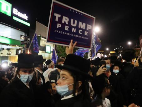 Orthodox Jews in Brooklyn Protest Gov. Cuomo's Coronavirus Restrictions for Second Straight Night