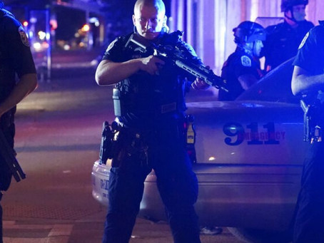 Multiple Louisville Police Officers Shot During Breonna Taylor Riots[Video]