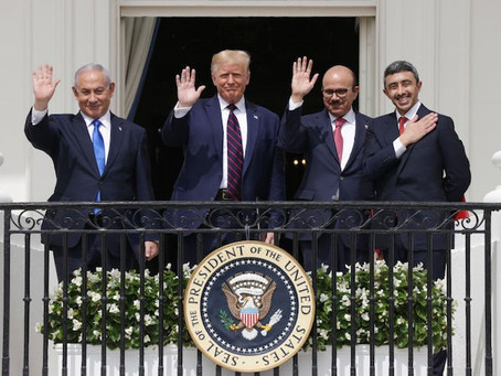 Historic Peace Agreement Between Israel and Arab Nations Signed at The White House