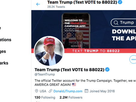 Twitter Suspends Trump Campaigns Official Account