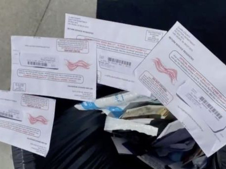 Breaking: FBI finds Discarded Mail-in Ballots Cast for Trump in Pennsylvania; DOJ is Investigating