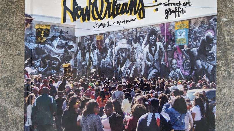 New Orleans: Murals, Street Art & Graffiti Vol.1