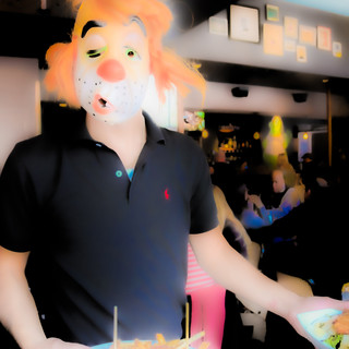 Clown Waiter
