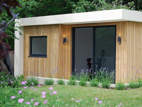 Stunning new garden studio room