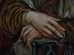La Pequena Mona Lisa (détail)