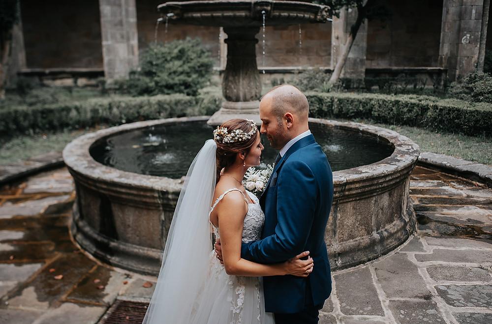 Ceremonia boda monasterio de Poio