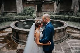 Roses wedding vibes + Ari & David en pazo A Toxeiriña