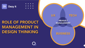 Role of Product Management in Design Thinking