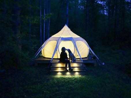 GLAMPING IN NORTH CAROLINA: NO ASSEMBLY REQUIRED