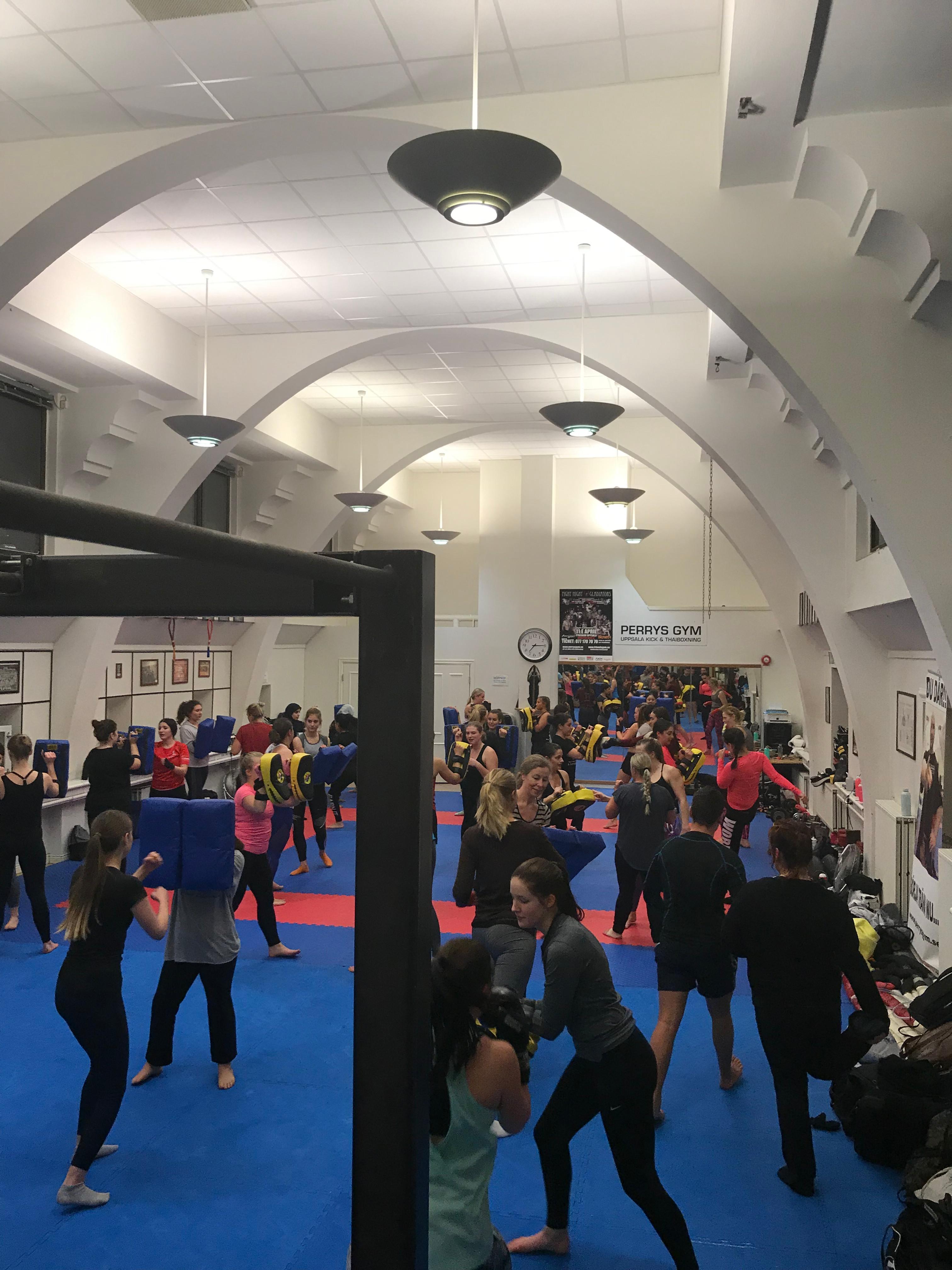 Inskolning Kick/Thaiboxning