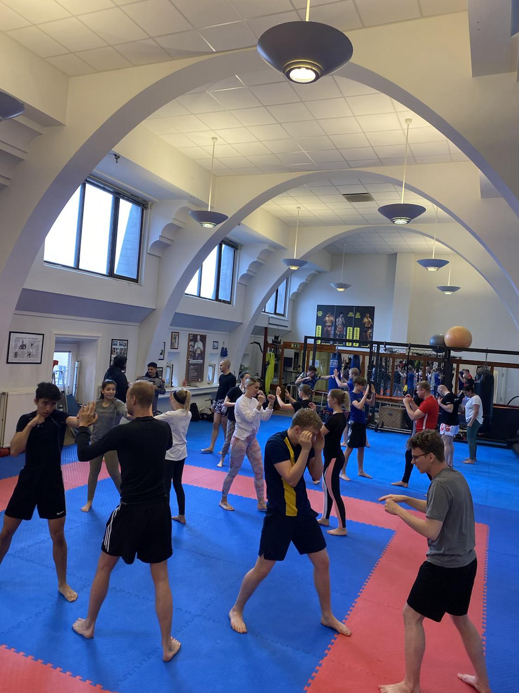 Inskolning Kick /Thaiboxning