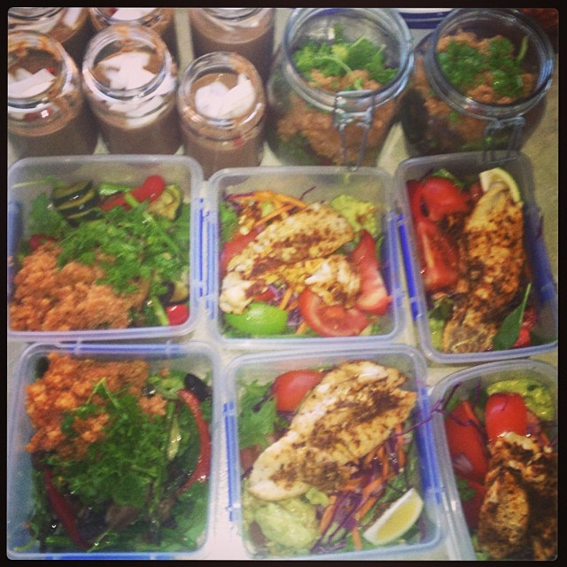 Excited for a busy week of eating like a boss! #mealprepsunday