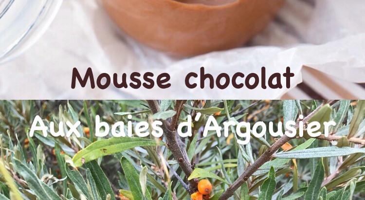 Mousse Chocolat et son caramel aux baies d'argousier