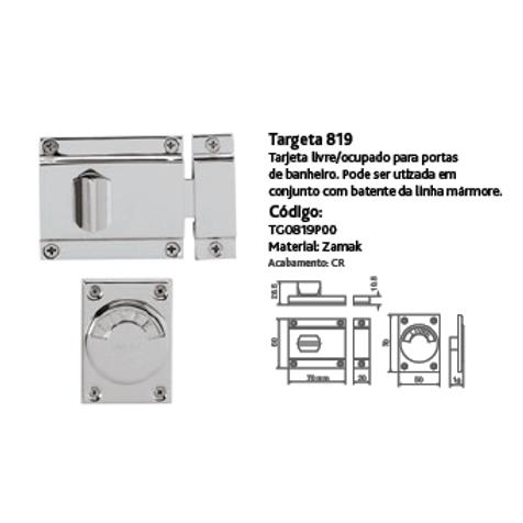 Targeta 819