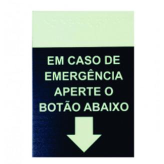 Placa Indicativa de Alarme