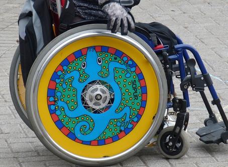 Já pensou em estilizar a sua cadeira de rodas?