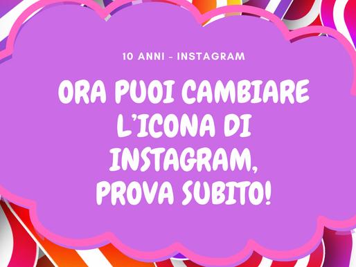 Ora puoi cambiare l'icona di Instagram, prova subito! 😍