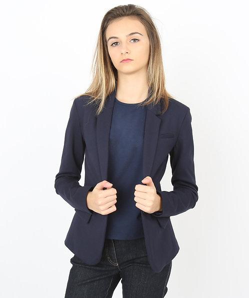 Tee-shirt bleu Femme manches longues