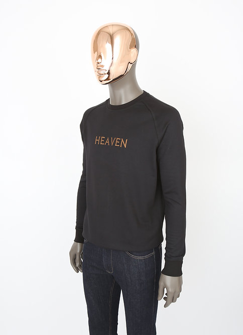 Sweat noir HEAVEN Camel