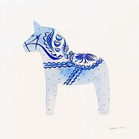 Dala Horse design