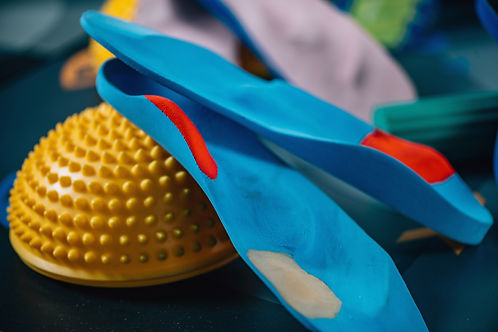 Insoles And Balance Pad, Selective Focus, Toned Image.jpg